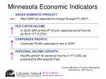 minnesota economic indicators