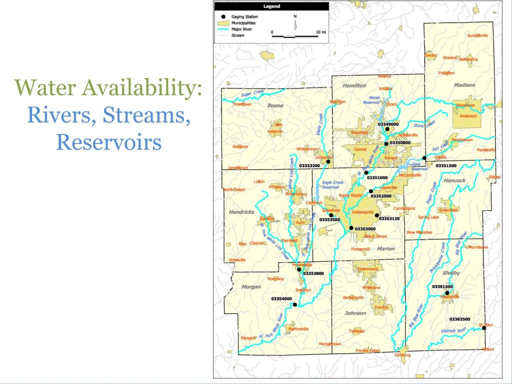 Water Availability:
