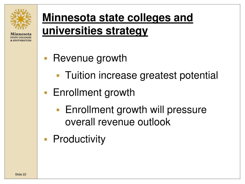 Minnesota state colleges and universities strategy