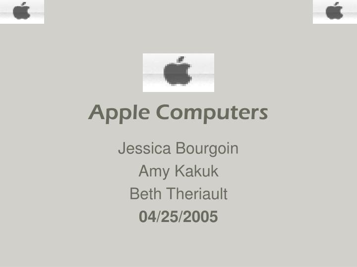 apple computers n.