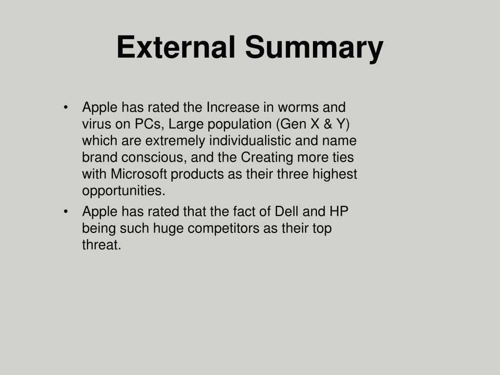 Apple has rated the