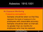 asbestos 1910 100111