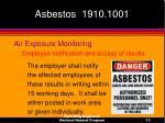 asbestos 1910 100113