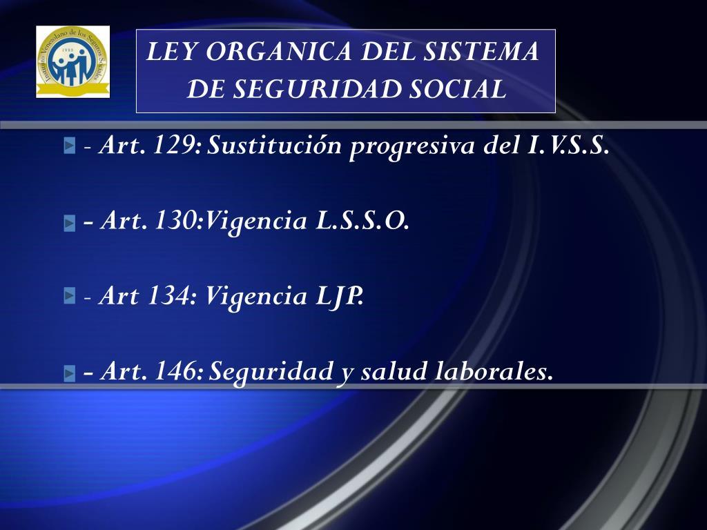 LEY ORGANICA DEL SISTEMA