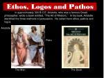 ethos logos and pathos