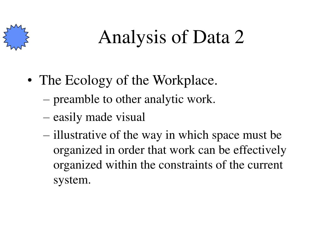 Analysis of Data 2