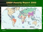 undp poverty report 200025