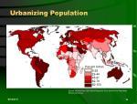 urbanizing population16