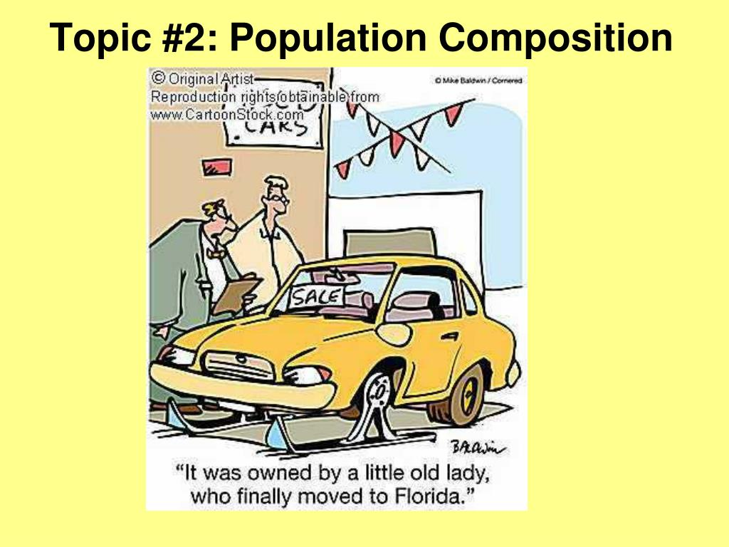 Topic #2: Population Composition