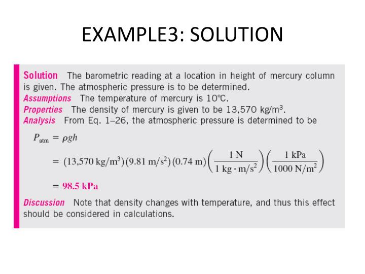 EXAMPLE3: SOLUTION