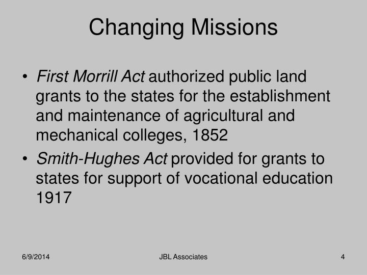 First Morrill Act