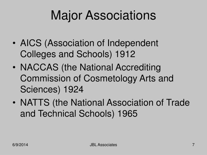 AICS (Association of Independent Colleges and Schools) 1912
