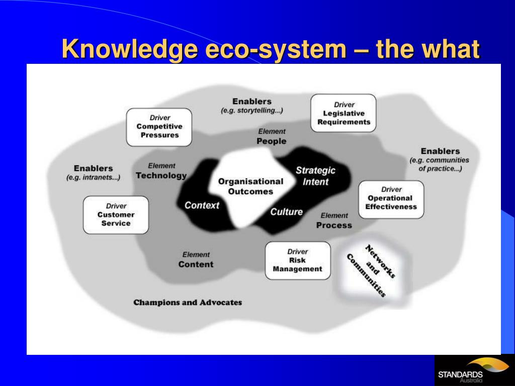 Knowledge eco-system – the what