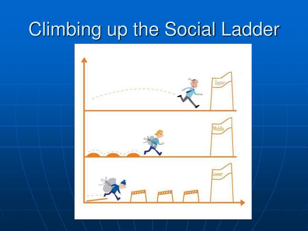 Climbing up the Social Ladder
