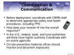 coordination communication