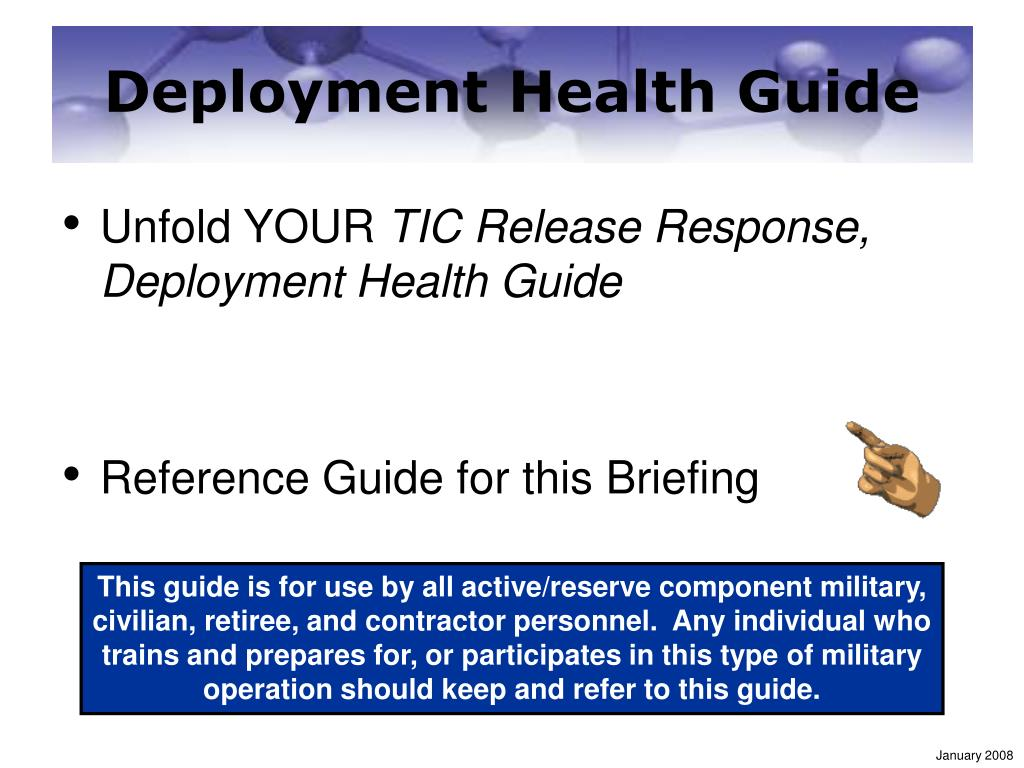 Deployment Health Guide
