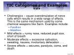 tic categories and examples 5 of 6