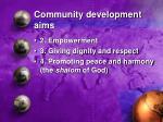 community development aims21
