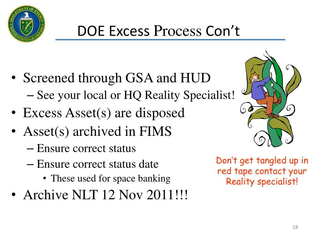 DOE Excess