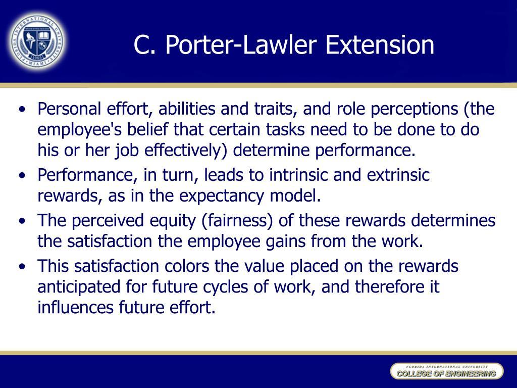 C.Porter-Lawler Extension