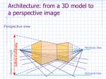 architecture from a 3d model to a perspective image38