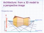 architecture from a 3d model to a perspective image39