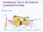 architecture from a 3d model to a perspective image40