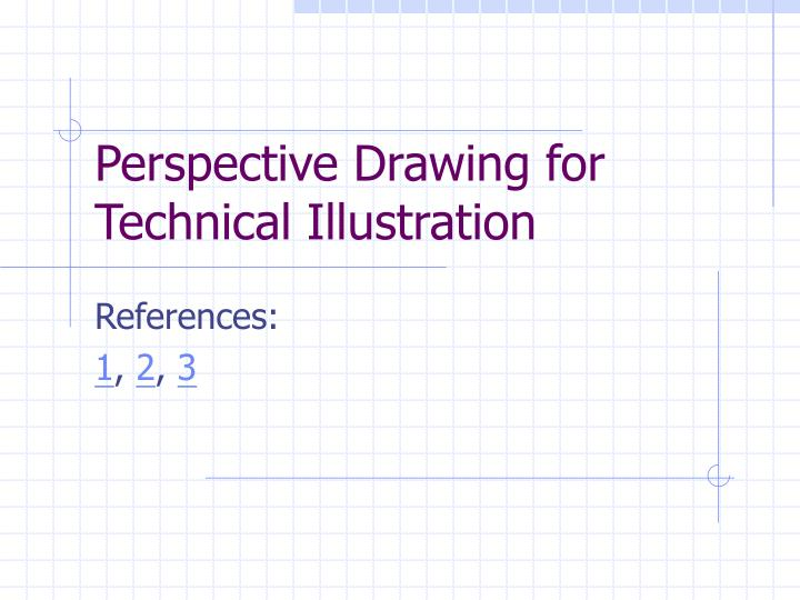 perspective drawing for technical illustration n.