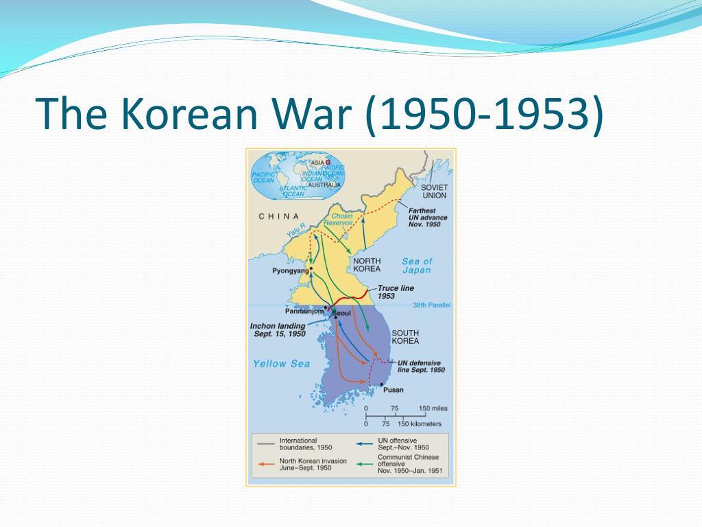 The Korean War (1950-1953)