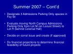 summer 2007 cont d