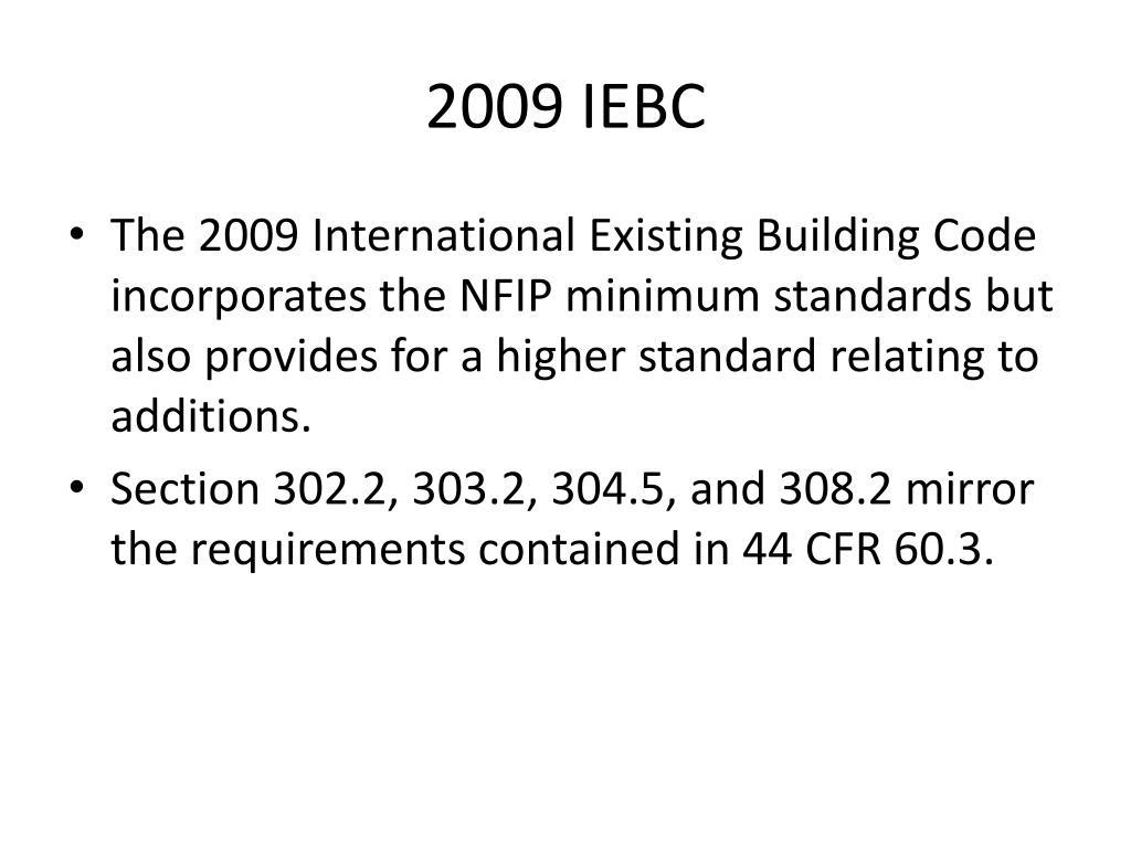 2009 IEBC