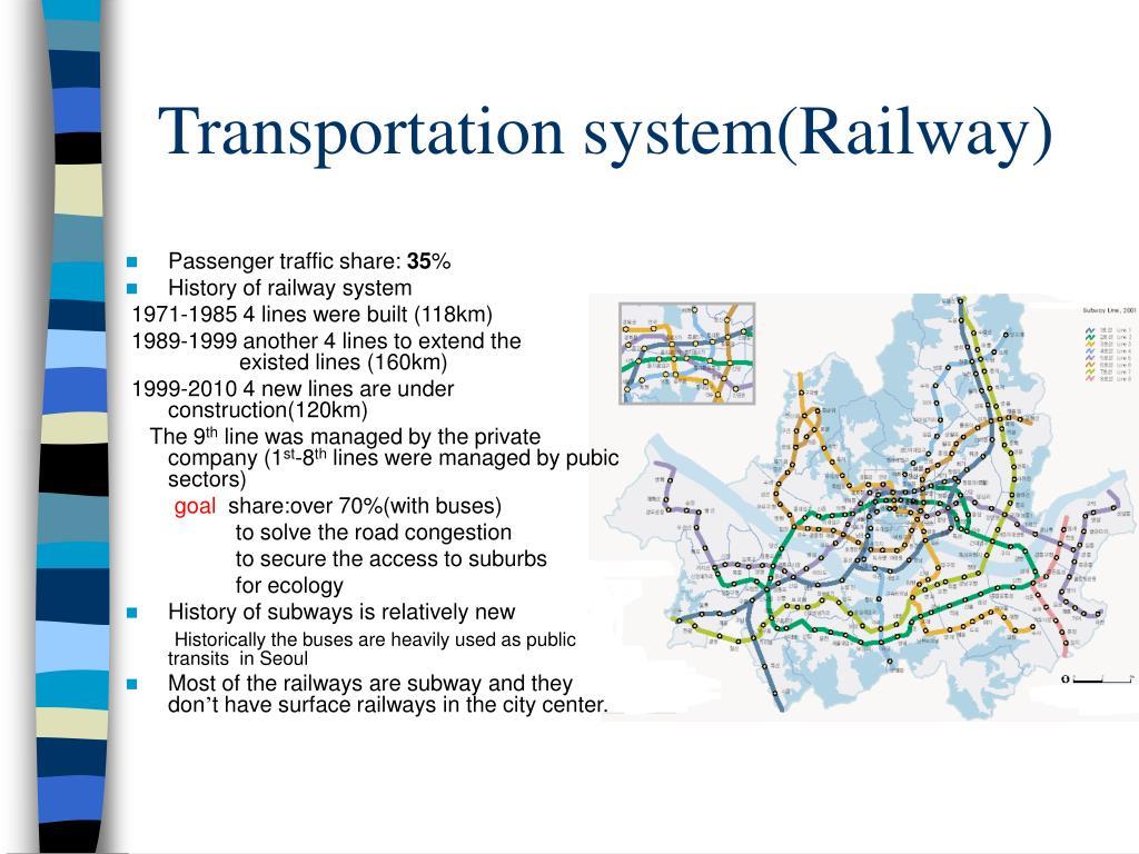 Transportation system(Railway)