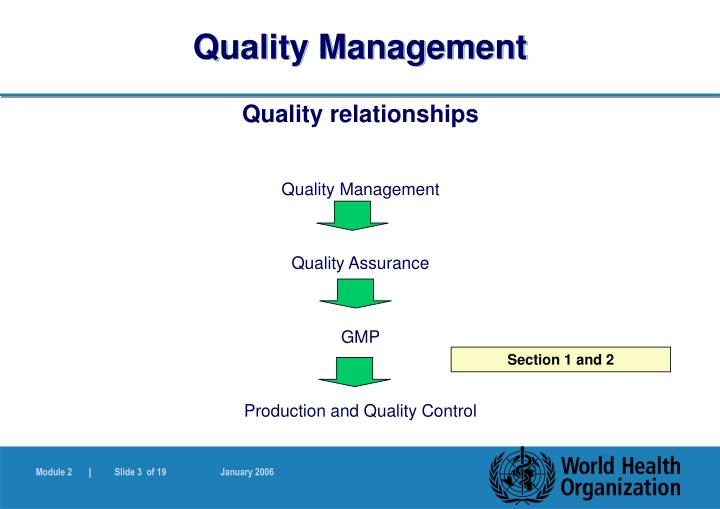 Quality management3
