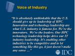 voice of industry5