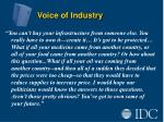 voice of industry6