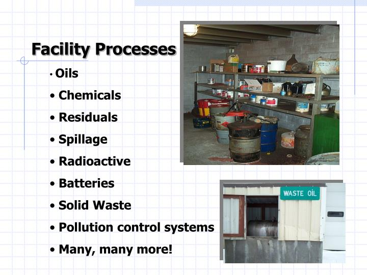 Facility Processes
