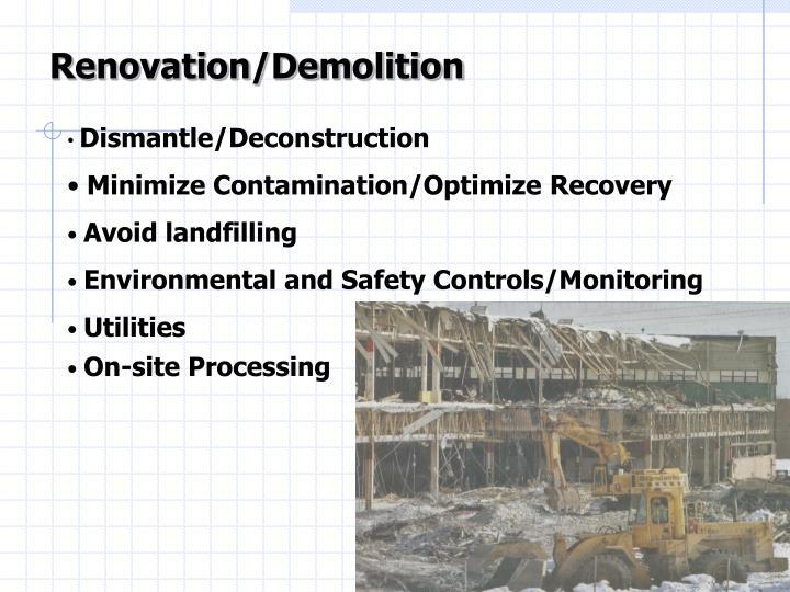 Renovation/Demolition
