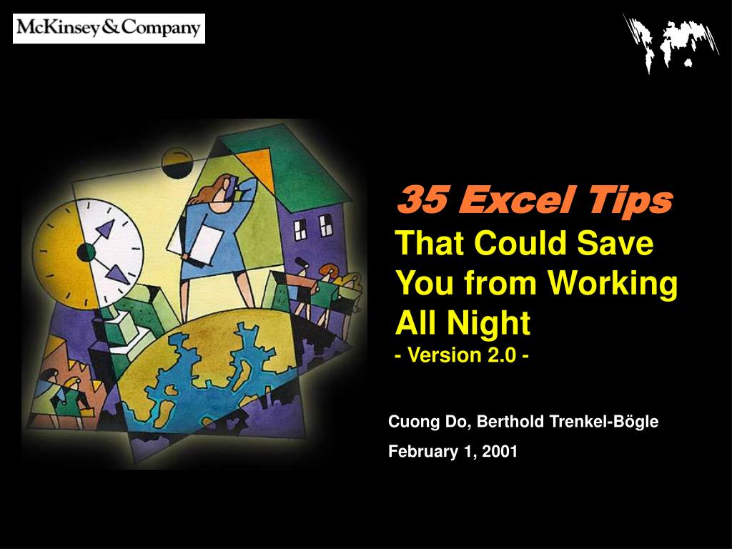35 excel tips that could save you from working all night version 2 0 l.