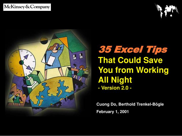 35 excel tips that could save you from working all night version 2 0