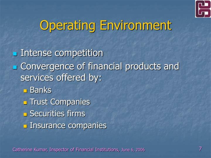 Operating Environment