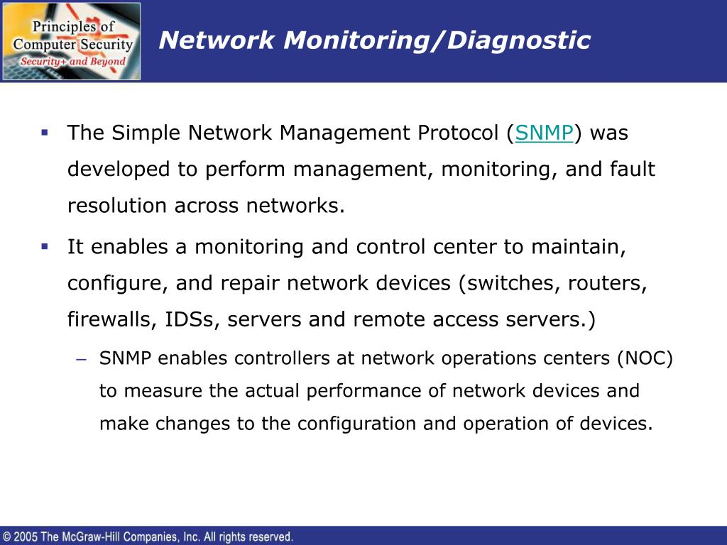 Network Monitoring/Diagnostic