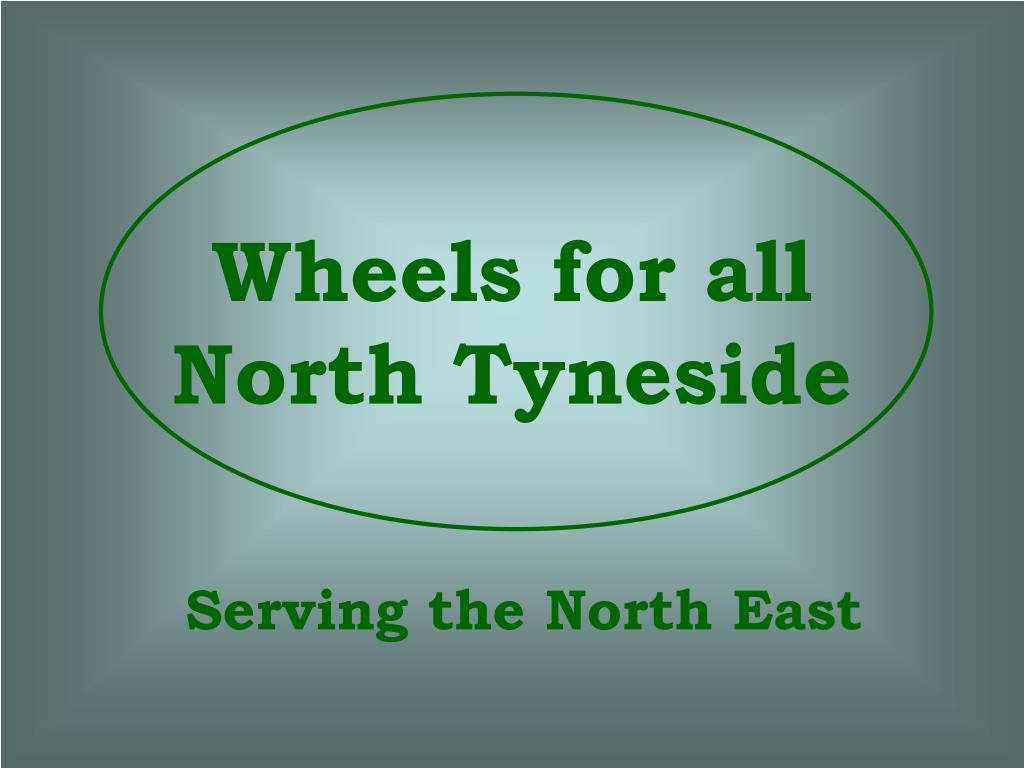 wheels for all north tyneside
