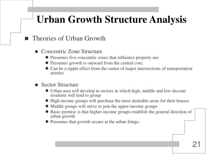 Urban Growth Structure Analysis