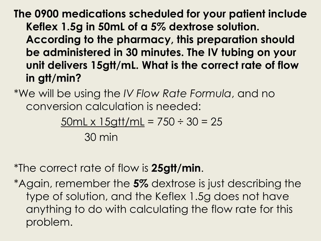 The 0900 medications scheduled for your patient include