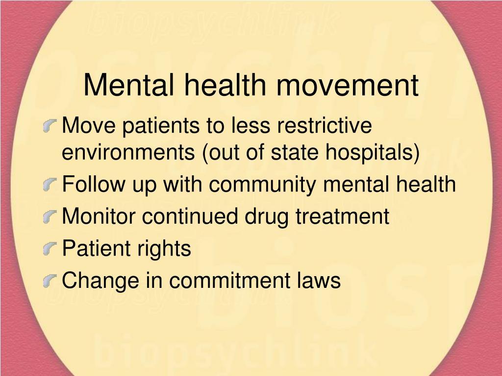 Mental health movement