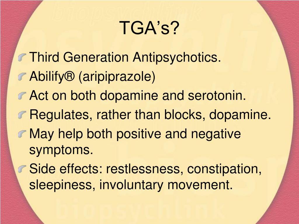 TGA's?