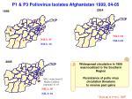 p1 p3 poliovirus isolates afghanistan 1999 04 05