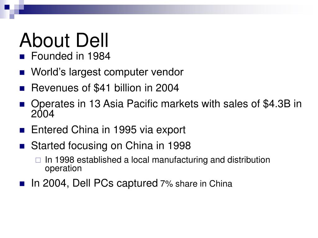 About Dell