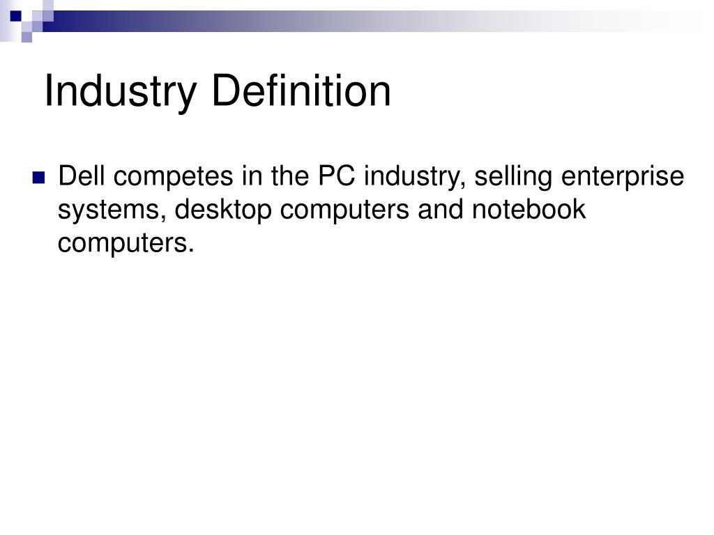 Industry Definition