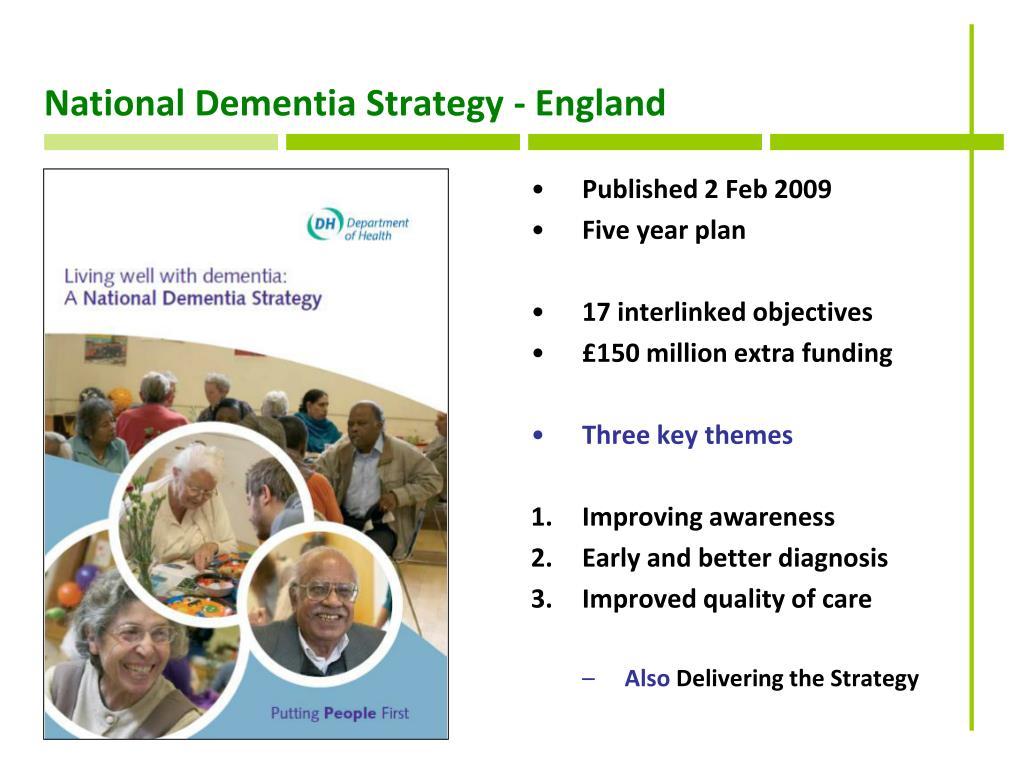National Dementia Strategy - England